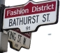 .KING-BATHURST street sign